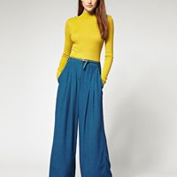 River Island | River Island Wide Leg Palazzo Pants at ASOS