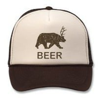 Beer Bear Deer Hats