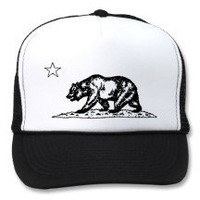 Vintage California Bear Hat
