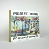 Where the Wild Things Are by Maurice Sendak 1991 /  25th Anniversary Edition