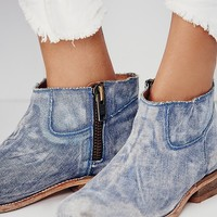Matisse Womens You and Tennessee Ankle Boot - Denim