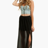 Maddy Maxi Skirt $30