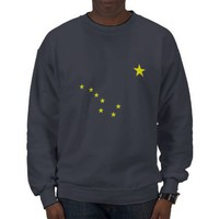 Alaska's Flag Sweatshirt from Zazzle.com