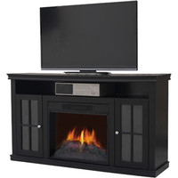 """Walmart: Decor Flame Electric Fireplace for TVs up to 42"""", Black"""