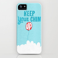 Keep Your Chin Up iPhone Case by Will Bryant | Society6