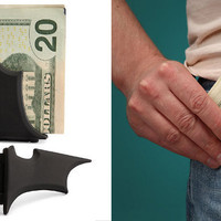 The Green Head - Batman Batarang Money Clip