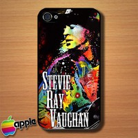 Stevie Ray Vaughan Dean Russo The Legend Custom iPhone 4 or 4S Case Cover