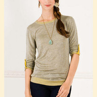 Sand Dunes Sweater