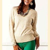 Warm Honey Sweater
