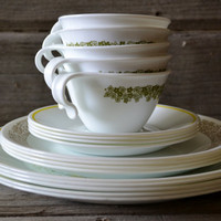 Wonderful Mixed and Matched Set of Corelle Dishes