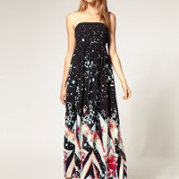 ASOS | ASOS Maxi Dress with STAR PRINT at ASOS