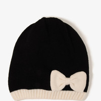 Knit Bow Beanie