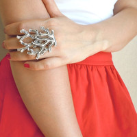 Ottoman Bough Metal Ring Set-Fashion Jewelry-2012 Trends-Fashion All Season