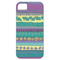 Aztec Tribal Pattern Iphone 5 Case from Zazzle.com