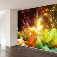 To Land Amongst The Stars Wall Mural Decal