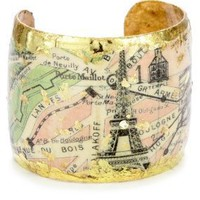 "ÉVOCATEUR ""On Trend"" Vintage Paris Cuff Bracelet: Jewelry: Amazon.com"