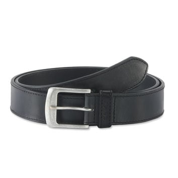 Belt in Top Grain Leather in Black Color - 392701 - Leather /