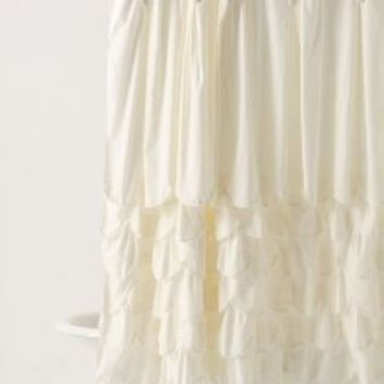 Bustled Shower Curtain - Anthropologie.com
