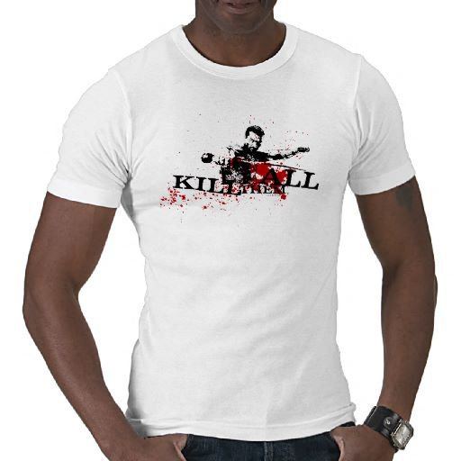 Kill Them All T Shirt from Zazzle.com