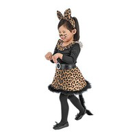 Black Leopard Cat Costume