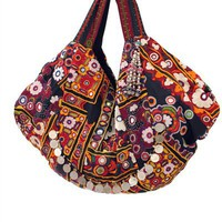 SIMONE CAMILLE Elvas Carry All Bohemian Bag - Multi<br /> $1750