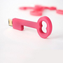 2GB USB Key Thumb Drive - Pink