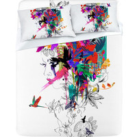 DENY Designs Home Accessories | Holly Sharpe Tropical Girl 1 Sheet Set
