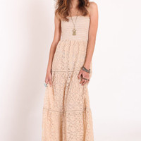 Falling Into Grace Lace Maxi Dress - &amp;#36;52.00 : ThreadSence.com, Your Spot For Indie Clothing &amp; Indie Urban Culture