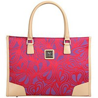 Diane von Furstenberg Luggage - New Hearts Fashion Tote 1736C01 - Luggage Online