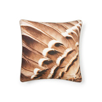 Feather-Print Pillow - Decorative Pillows - Bedroom | Zara Home United States of America