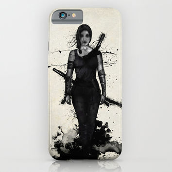 Onna Bugeisha iPhone & iPod Case by Nicklas Gustafsson
