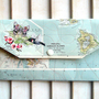 Travel Envelope Organizer Paper and Vinyl by MyPaperGarden on Etsy