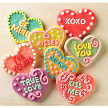 Conversation Heart Cookie Cutters