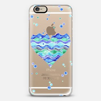 Bubbles of Love (transparent) iPhone 6 case by Timone | Casetify