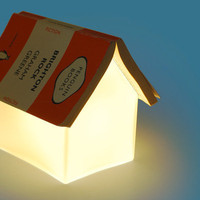 Book Rest Lamp : Bedside reading light