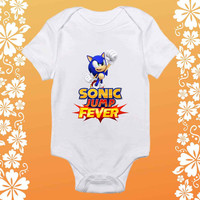 Sonic Jump Fever shirt baby Onesuit,  Sonic Jump Fever baby Onesuit, shirt baby Onesuit, baby Onesuit