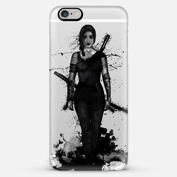 Onna Bugeisha iPhone Case by Nicklas Gustafsson