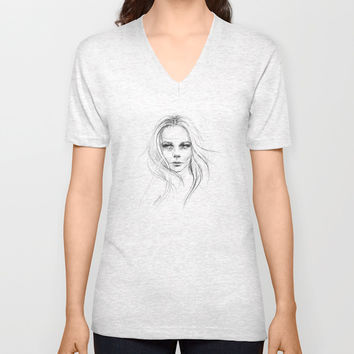 Fade away Unisex V-Neck by EDrawings38