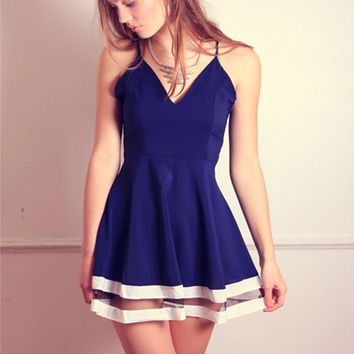 Navy Keepers Dress