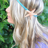 Starfish Headband Sugar Starfish Super Sparkly by ShepherdoftheSea