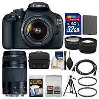 Canon EOS Rebel T5 DSLR Camera with EF-S 18-55mm IS II Lens