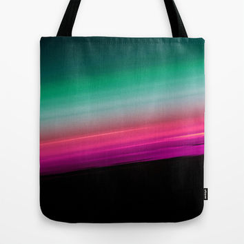 Fuchsia to Teal Smooth Ombre Tote Bag by 2sweet4words Designs