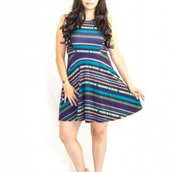 TRIBAL COLORFUL DRESS