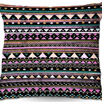 Decorative Woven Couch / Throw Pillow from DiaNoche Designs by Nika Martinez Unique Bedroom, Living Room and Bathroom Ideas - Cool Tribal