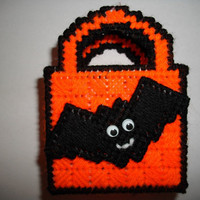 Batty Halloween Basket