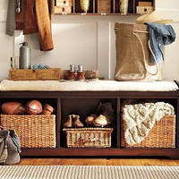 Samantha Entryway Bench | Pottery Barn