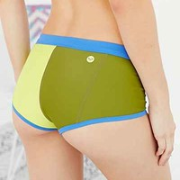 Roxy Go Shortie Bikini Bottoms- Green