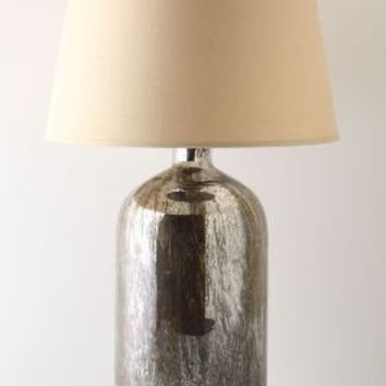 Mirror Jar Lamp Base, Small by Anthropologie Silver S Wall Decor