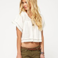 Moon Fall Cropped Top - Roxy