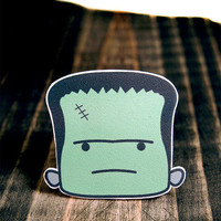 Frankenstein Brooch from Tiny Love Stories